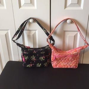 Vera Bradley  2 shoulder bags: New hope/Hope toile